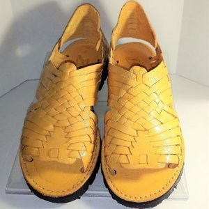 Brand X WMN's Pachuco Leather Huaraches Size 6 New